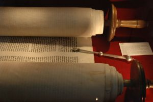 Torah and Yad.