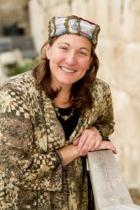 Rabbi Rosalind Glazer In Jerusalem