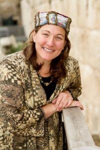 Rabbi Rosalind Glazer In Jerusalem