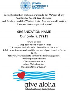 Give Aloha Flyer