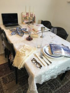 Table Set for Shabbat