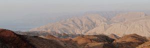 Eilat Hills in Mist